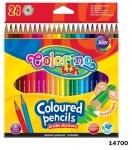 Карандаши цветные, 24 цвета