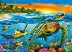 """Детские пазлы 180 """"Морские черепахи"""""""