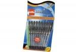 Ручка Cello Maxriter, синяя, черная (упак)