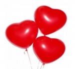 """Шарики """"Сердце"""" красные"""