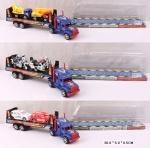 Игрушечный трейлер инерционный