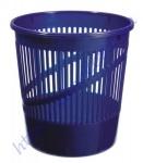 Корзина для бумаг сетчатая синяя