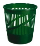 Корзина для бумаг сетчатая зеленая