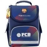 Рюкзак школьный каркасный 501 FC Barcelona