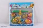 Детская Рыбалка с удочкой и веселыми рыбками