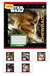 Тетрадь в клетку А5 12 листов. Star Wars Heroes