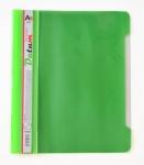Скоросшиватель пластиквый А5 зеленый/светло-зеленый