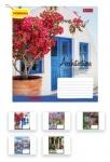 Тетрадь в линию А5 36 листов Architec&Flowers