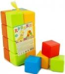 Кубики строительные детские 16 элементов