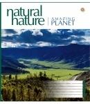 Тетрадь в клетку А5 48 листов Amazing Planet