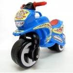 """Каталка """"Мотоцикл"""", 2-х колесный, синий"""