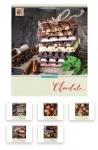 Тетрадь в клетку А5 24 листа Сhocolate