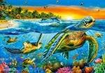 """Касторленд пазлы 1000 """"Морские черепахи"""""""