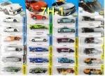 Машинки инерционная Hot Wheels, оригинальные модели от Mattel