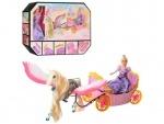Игровой набор для девочек Карета с лошадью