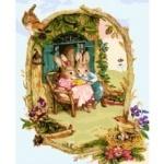 Картины по номерам - Заюшкины посиделки (без коробки)