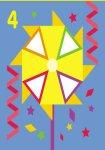 Мозаїка з наліпок. Для дітей від 3 років. Трикутники (р/у)