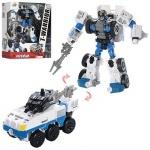 Игрушечный трансформер, робот+машина