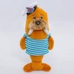 """Мягкая игрушка Морж """"Моряк"""", 31см"""