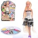 Кукла типа Барби с краской для волос