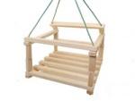 Качель деревянная детская