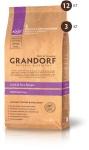 Сухой корм для взрослых собак крупных пород Grandorf Adult Large Breed (ЯГНЕНОК С РИСОМ) 3кг