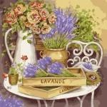 Картина по номерам - Цветы прованса (без коробки)