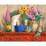 Картины по номерам - Цветочная идилия (без коробки)