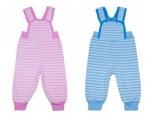 Штаники детские с грудкой, махра начесная р.48 ( рост 68см-74см )