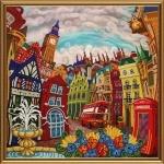 """Набор для вышивания бисером """"Лондон. Зазеркалье"""""""
