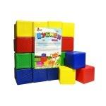 Кубики 32шт Цветные