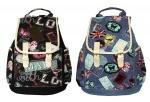 Рюкзак хлопковый со вставками