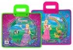 """Портфель """"Princess world""""с пластиковыми ручками"""