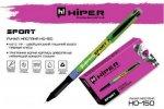 Ручка масляная Hiper Sport, черная