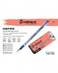 Ручка масляная Hiper Inspire, фиолетовая