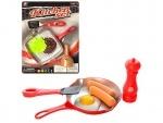 Игровой набор продуктов с посудкой