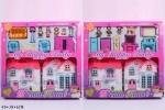 """Кукольный дом с куклами, мебелью """"Dream House"""""""