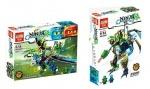 Конструктор Ninja 2в1 дракон-робот