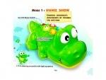 Игрушечный музыкальный крокодил