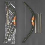 Лук деревянный со стрелами, 68см