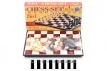 Набор магнитный 3в1 (шашки, шахматы)