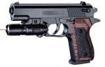 Пневматический пистолет с лазерным прицелом