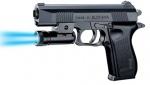 Игрушечный пневматический пистолет с фонариком
