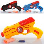 Пистолет игрушечный, водяные мягкие пули-присоски