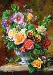 """Пазлы Касторленд 500 """"Цветы в вазе"""""""