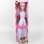 Кукла-невеста музыкальная, 75 см,