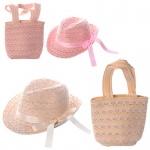 Детская сумочка и шляпка пляжные