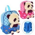Рюкзак детский с мягкой игрушкой пандой