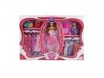 Кукла с набором платьев