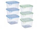 Набор контейнеров пластиковых для пищевых продуктов 3шт/наб